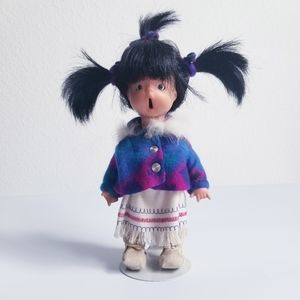 Native American handcrafted Porcelain Doll
